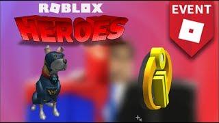 HOW TO GET SUPER PUP & INCREDIBLES 2 BADGE!! | ROBLOX Super Hero Life II (Heroes Event)