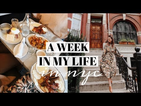 NYC WEEK IN MY LIFE: Living And Working A 9-5 In New York City