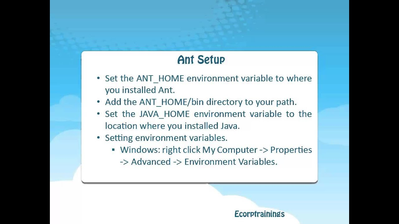 Apache ant training india usa apache ant free demo tutorial apache ant training india usa apache ant free demo tutorial ecorptrainings baditri Images