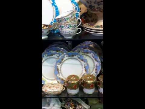 English Porcelain, Derby, Minton,Coalport,Rockingham,Davenport,Ridgeway & German Meissen