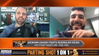 aiemann zahabi talks ufc debut feb 19 contra skills on the nes