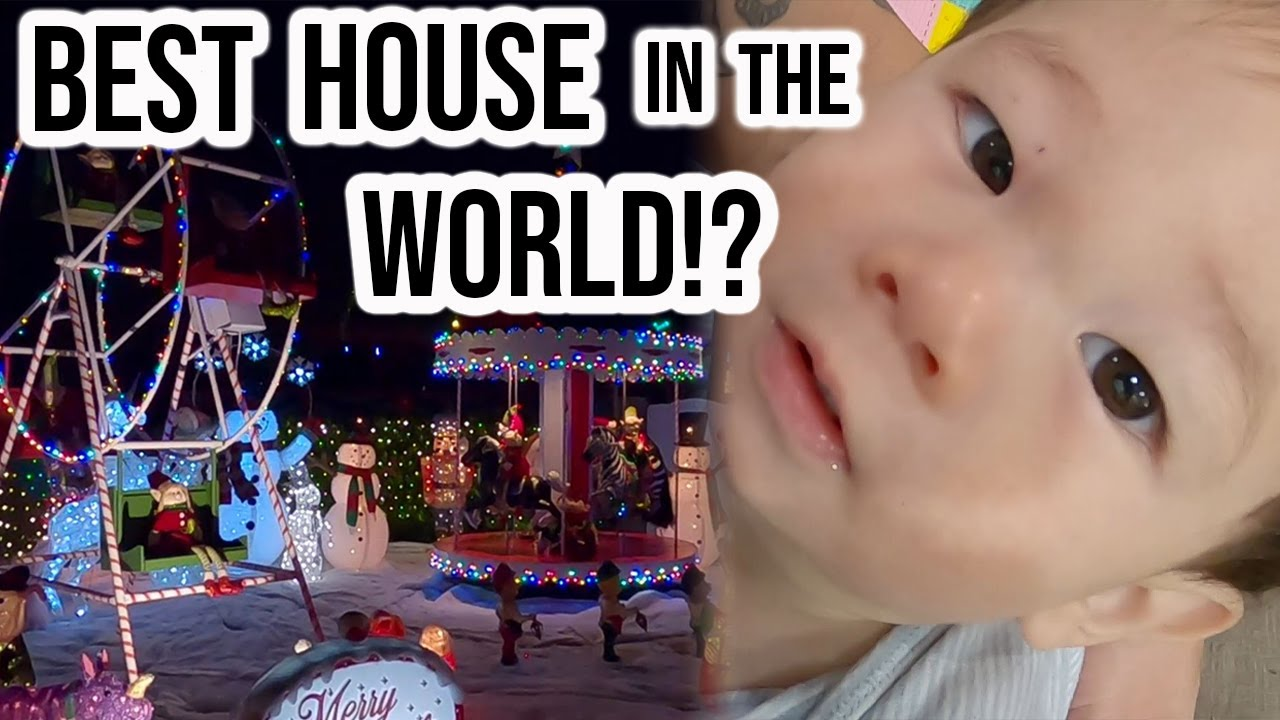 Best Christmas House in the WORLD!!!