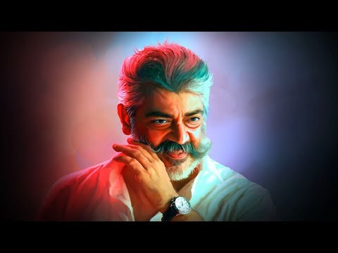 Viswasam Ajith Digital Painting in Photoshop CS3 Tutorial | Giants Tutorials