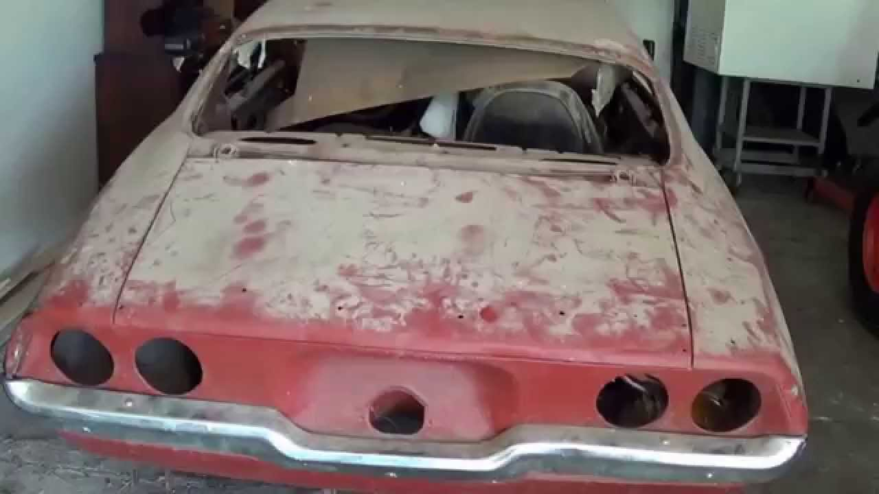 1970 Chevy Camaro Project Car! Part 1: Getting The Car And Bringing ...