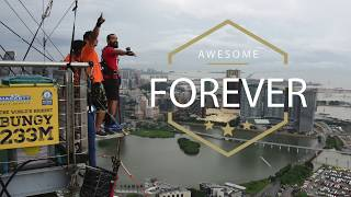 Video World's Highest Bungy Jump Ever - Macau Tower - AJ Hacket download MP3, 3GP, MP4, WEBM, AVI, FLV Juli 2018