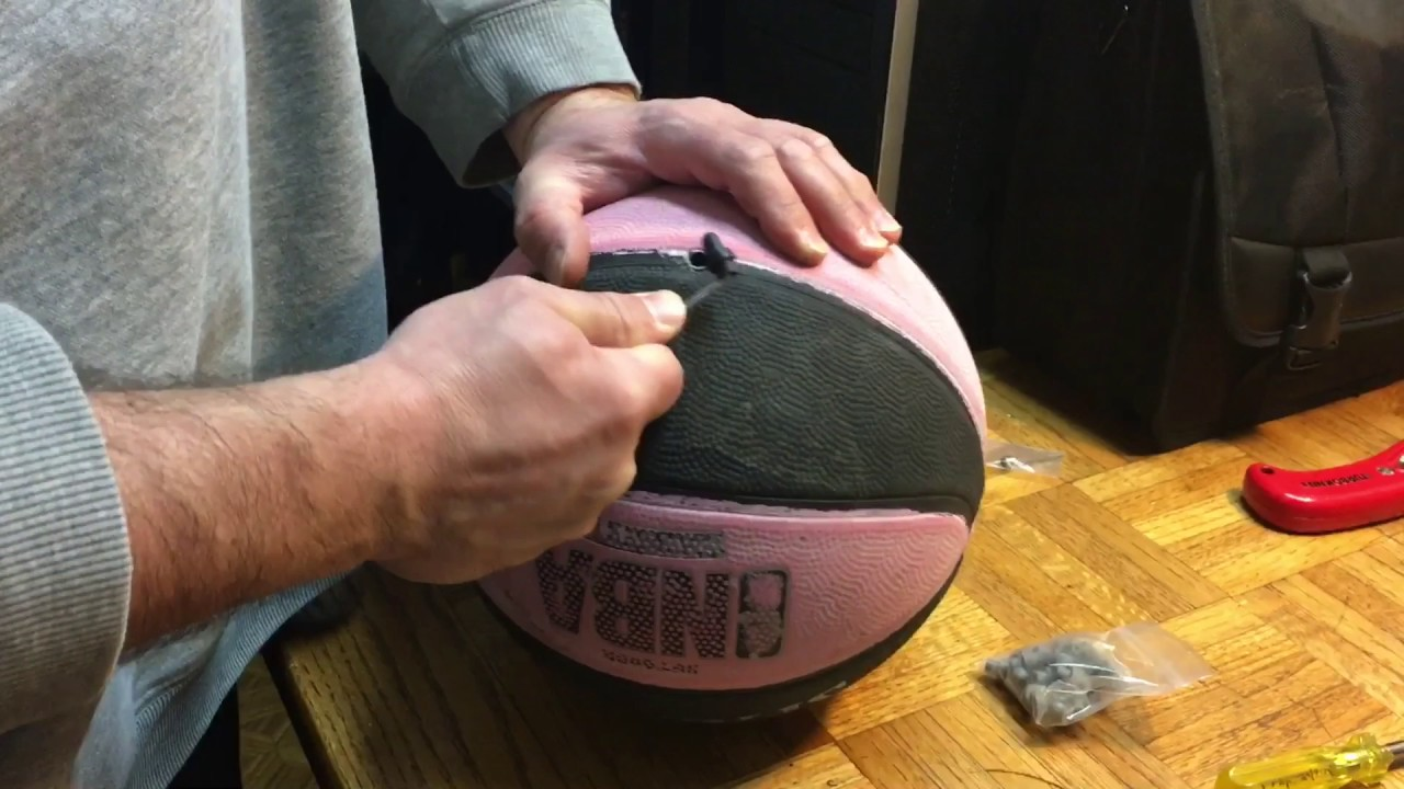 How To Replace A Leaky Old Air Valve On Basketball The Easy Way