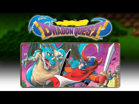 Dragon Quest NES Playthrough and Chat Late Night Live Stream