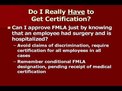 FMLA Medical Certification FAQs: Ask the HR.BLR.com Expert - YouTube