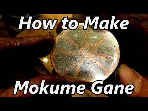 How to Make Mokume Gane - Copper and Nickel Damascus | Iron Wolf Industrial