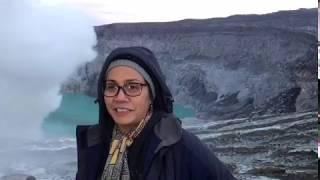 Testimoni Menkeu Sri Mulyani Saat Kunjungi Kawah Ijen | 2 Maret 2018