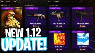 NEW BO4 UPDATE 1.12 🔴 // NEW CALL OF DUTY BLACK OPS 4 UPDATE 1.12 // 🔴TOP RANKED COD PLAYER!