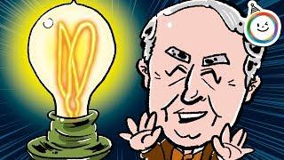 世界の発明王「トーマス・エジソン」の動く絵本です。 年長さんから小学...