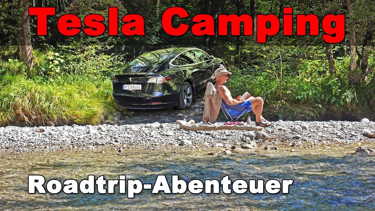 Download Tesla Camp-Modus - Camping Roadtrip mit dem Model 3
