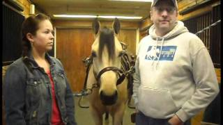Jacki St. Cyr Interviews Reining Trainer Dan Sanborn, MDS Farms, Salisbury, NH