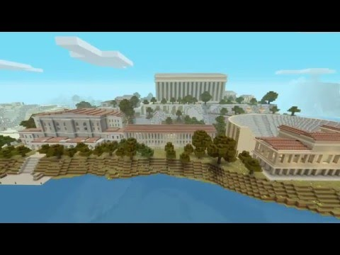 Minecraft-Greek adventure map