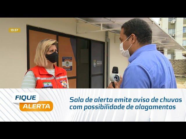 Sala de alerta emite aviso de chuvas com possibilidade de alagamentos em Alagoas