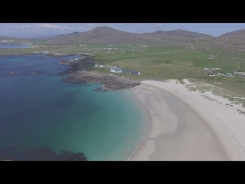 Beaches on the Isle of Barra Outer Hebrides Scotland