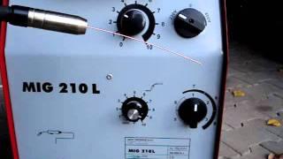Iskra 210 MIG def. Punktschweißautomatik