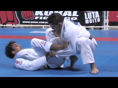 Romulo Barral VS Saulo Ribeiro / World Championship 2007