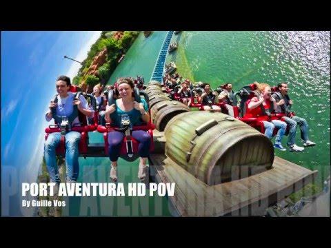 Port Aventura Gopro Hero POV (Shambhala, Furious Baco y Hurakan Condor)