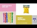 default - Joyin Toy 36 Counts Tropical Hawaiian Luau Flower Lei Party Favors (3 Dozen)