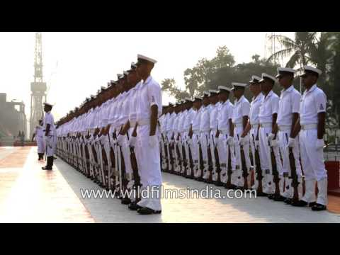 Indian Navy at its best: discipline and order