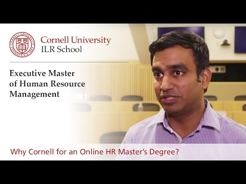 Why Cornell for an Online HR Master's Degree?
