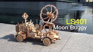 STEM Toy-Robotime Space Hunting Series - Solar Energy Powered Toys