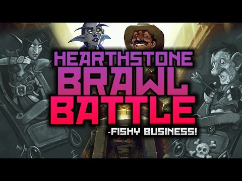 Hearthstone Brawl Battle: Hot Murloc on Murloc Action! (Rage vs Hollow)