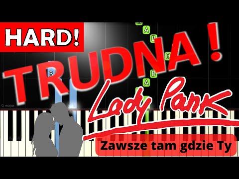 🎹 Zawsze Tam Gdzie Ty (Lady Pank) - Piano Tutorial (TRUDNA! wersja) 🎹
