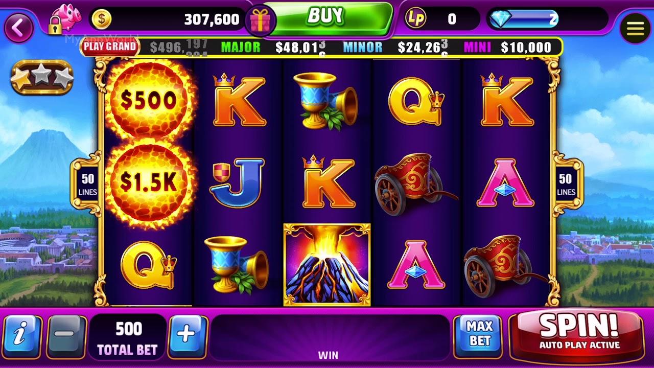 Lotsa Slots: Casino SLOTS Gameplay HD 1080p 60fps - YouTube