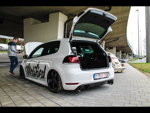 Extreme LOUD BANGS & Flames | Modified Volkswagen Golf 6 GTI