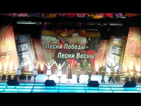 Мари Карне, шоу-балет Идеал День Победы 2016 ГЦКЗ Россия в Лужниках