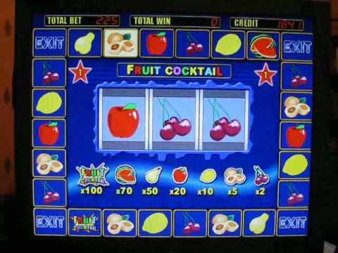Игровые автоматы фрукт коктейль 2