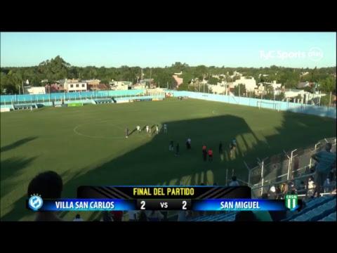 Primera B Metropolitana: Villa San Carlos vs. San Miguel | #PrimeraBenTyCSports