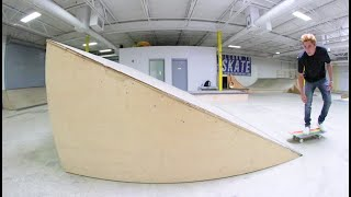The Skateboard LUDICROUS RAMP! / You Must Skate It!