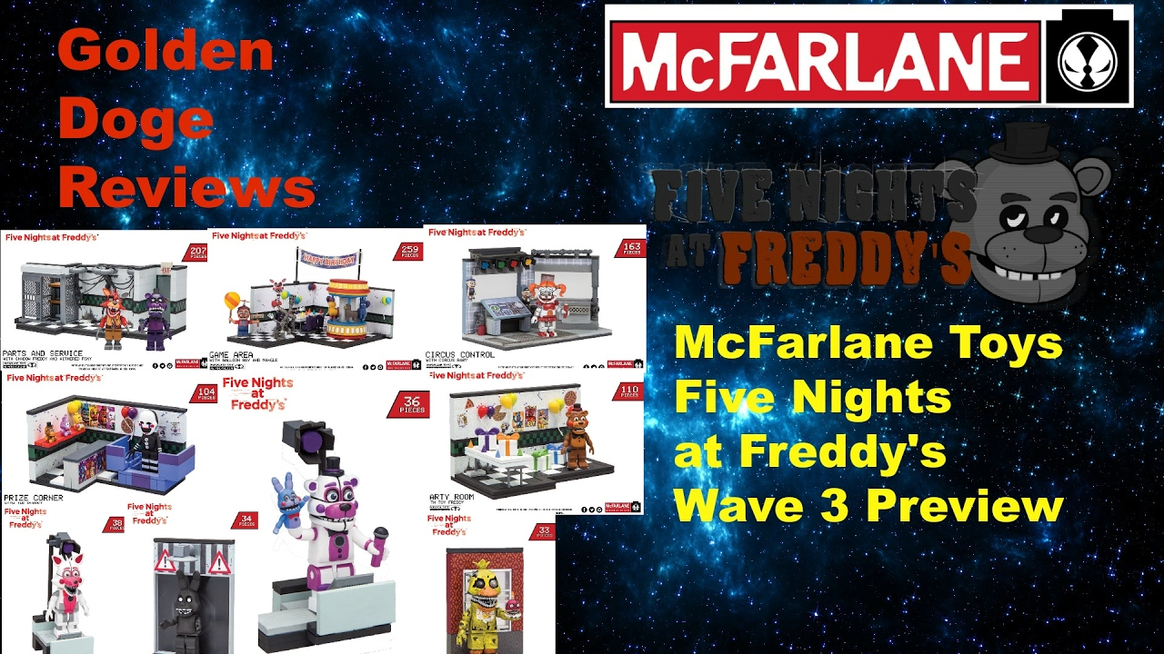 More five nights at freddy s construction sets coming soon - Five Nights At Freddy S Construction Sets Wave 3 Preview
