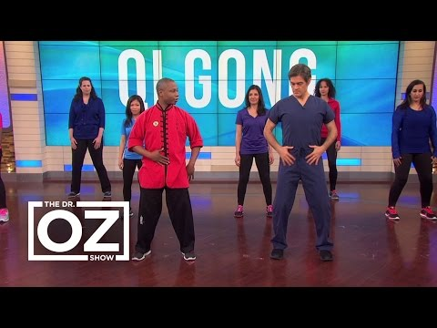 Dr. Oz and Karl Romain Demonstrate Stress-Relieving Qigong Exercises