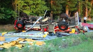 Firetruck Rollover, Fire Truck Accidents, Fire Truck Wrecks, Fire Truck Crashes