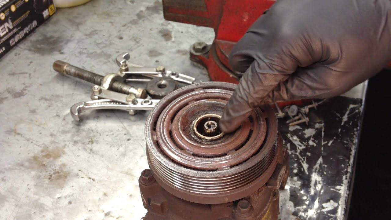 medium resolution of ford a c compressor clutch rebuilding instructional