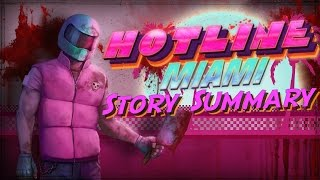 Hotline Miami 1 Story Summary