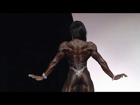 Shanique Grant Women`s Physique Olympia 2019 Posing
