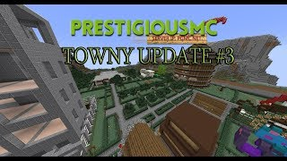 Minecraft Towny Update #3 Whats New??