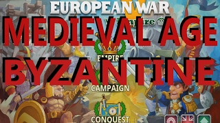 European War 5: Empire    Medieval Age Conquest Byzantine