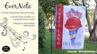 Evernote™ Garden Flag - 14EN2964 Sweet Land of Liberty Thumbnail
