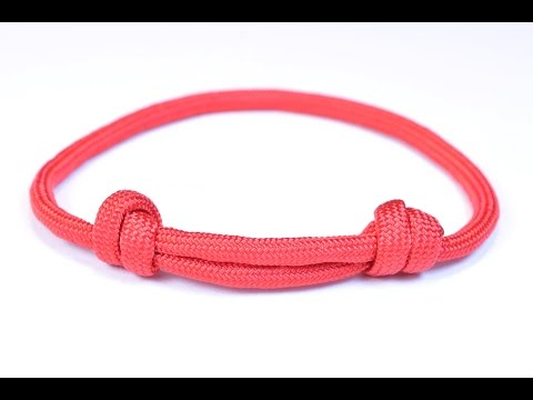 Make the Sliding Knot Friendship Paracord Bracelet - Bored Paracord