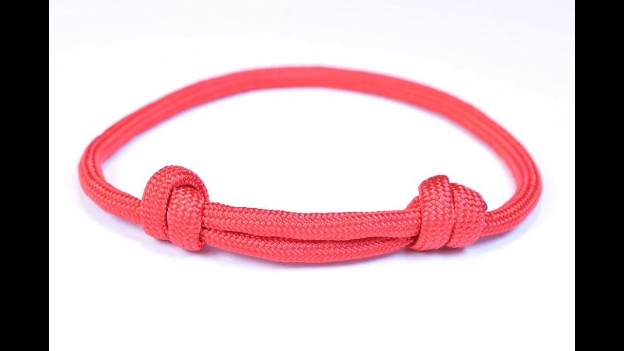 Make The Sliding Knot Friendship Paracord Bracelet Bored