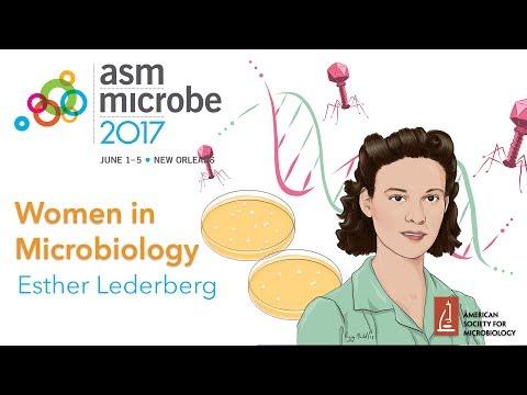 Women in Microbiology - Esther Lederberg