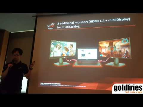 ASUS Malaysia Introduces the ROG G501, G751 and GL552 gaming notebooks and G20 compact gaming PC.
