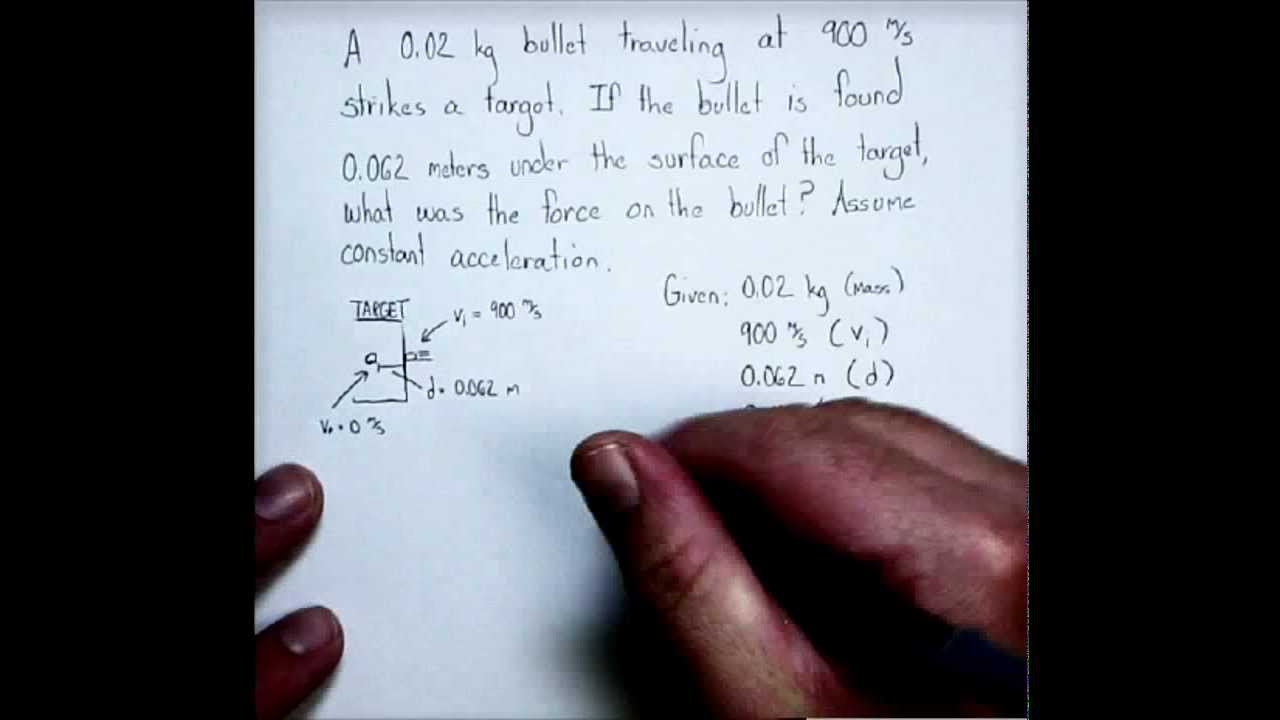 Newton's 2nd Law Problem with Kinematics Equations